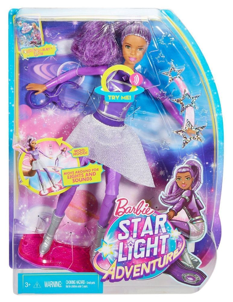 Barbie Star Light Adventure Lights Amp Sounds Hover Boarder Doll